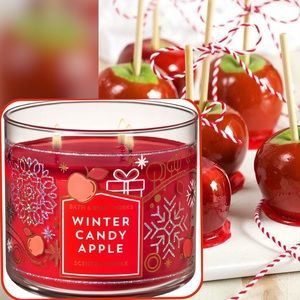 "NEW ""Winter Candy Apple"" Candle"